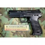Airsoft-Pistole KWA H&K HK45 Metal Version GBB 6mm