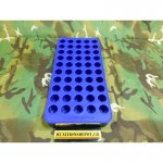 Frankford Arsenal Perfect Fit Reloading Tray #6 44 Remington Magnum, 45 Colt (Long Colt), 30-30 Winchester 50-Round Blue