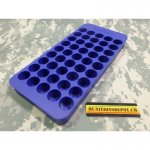 Frankford Arsenal Perfect Fit Reloading Tray #9 470 Nitro Express, 50-70 Government, 500 Nitro Express 45-Round Blue