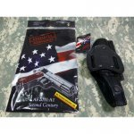 Holster Arsenal Firearms BLACK AMERICAN DOUBLE HOLSTER LEATHER