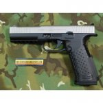 Pistole Arsenal Strike One Standard 9mm Para; schwarz/chrom