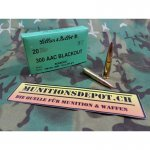 Sellier & Bellot .300 AAC Blackout Subsonic 200grs FMJ;...