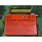 Zündhütchen RWS 5341 Large Rifle 5.33mm; 250 Stk