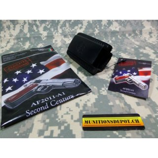 Magazinholster Arsenal Firearms BLACK DOUBLE MAGAZINE POUCH LEATHER