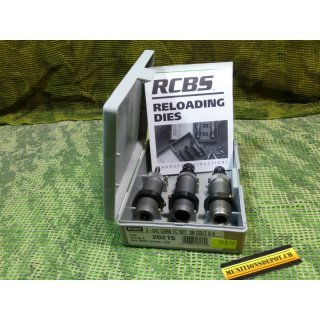Matrizensatz RCBS .38 Super Auto Carbide 3-Die Taper Crimp