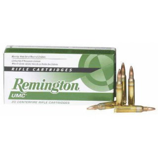 Remington/UMC .223Rem  55grs; 20 Stk
