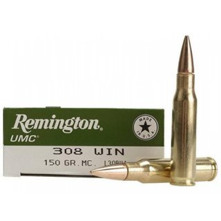 Remington/UMC .308 Win  150grs; 20 Stk