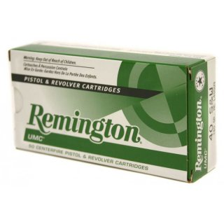 Remington/UMC .40 S&W 180grs; 50 Stk