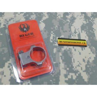 Montageringe Ruger STD 30mm High Scope stainless