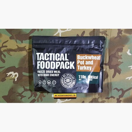 Survival Meal TACTICAL FoodPack - Buckwheat Pot and Turkey