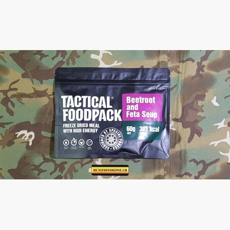 Survival Meal TACTICAL FoodPack - Beetroot and Feta Soup