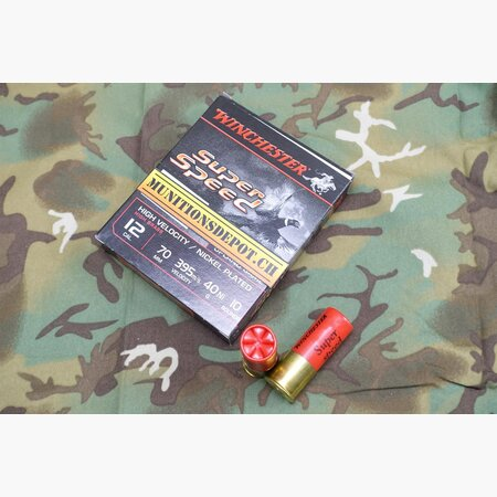 Winchester 12/70 Super Speed No. 0 Ni 3.9mm 40g; 10 Stk