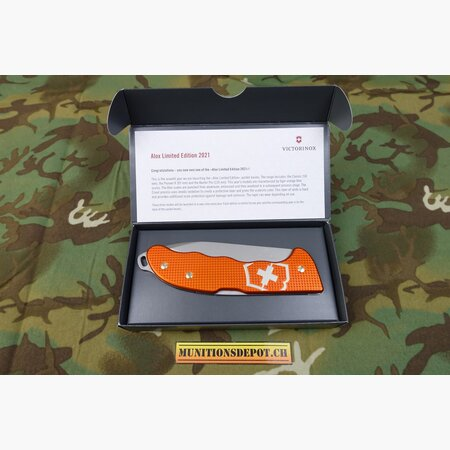 VICTORINOX Hunter Pro Alox Limited Edition 2021; Tigerorange