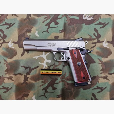 Pistole Ruger SR 1911 .45 ACP stainless 5