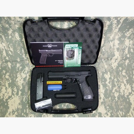 Pistole Arsenal Strike One Standard 9mm Para; schwarz
