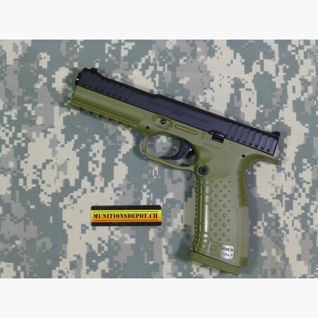 Pistole Arsenal Strike One Standard 9mm Para; olive drab