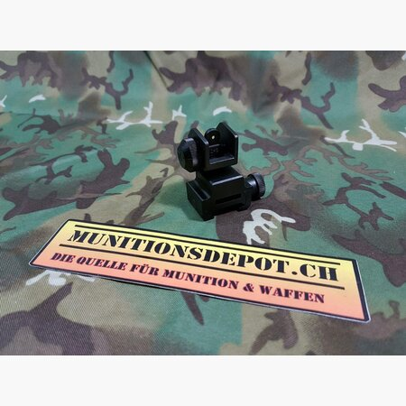 Klappvisier (Kimme) UTG Model 4/15 Flip-up Rear Sight; MNT-951