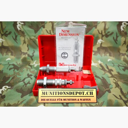 Matrizensatz Hornady 2 Die Set 6.5 Creedmoor MG (.264)