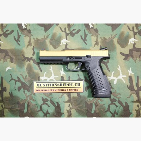 Pistole Arsenal Strike One Speed 9mm Para; gold