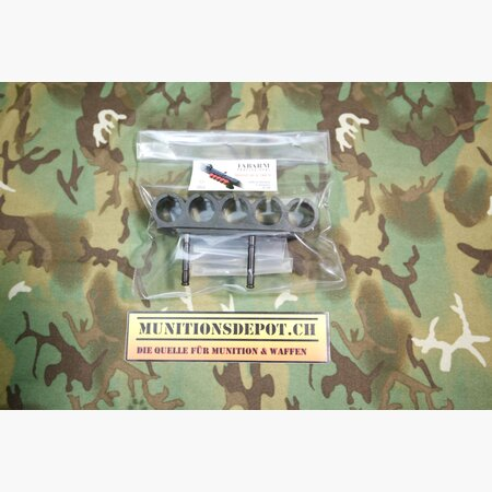 Schrotpatronenhalter 5-fach Fabarm STF 12 Sidesaddle