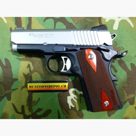 Pistole SIG-SAUER 1911 Ultra Compact 9mm Para Two-Tone