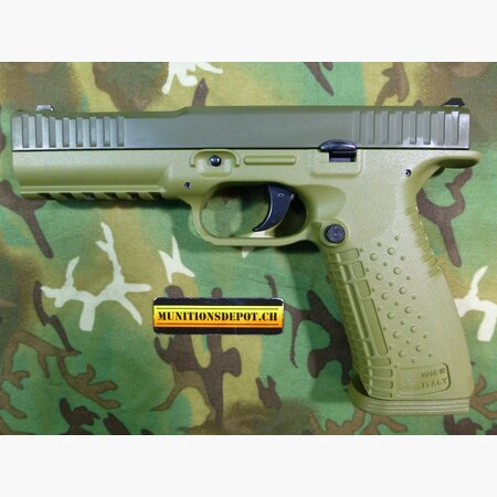 Pistole Arsenal Strike One All Weather 9mm Para; olive drab