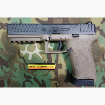 Pistole Diamondback DB FS Nine Special Unit 9mm Para FDE