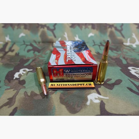 Hornady 6.5 Creedmoor American Whitetail INTERLOCK...