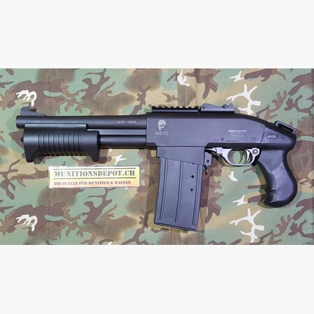 Pumpflinte S.D.M. M870 Shorty Pistol 12/70